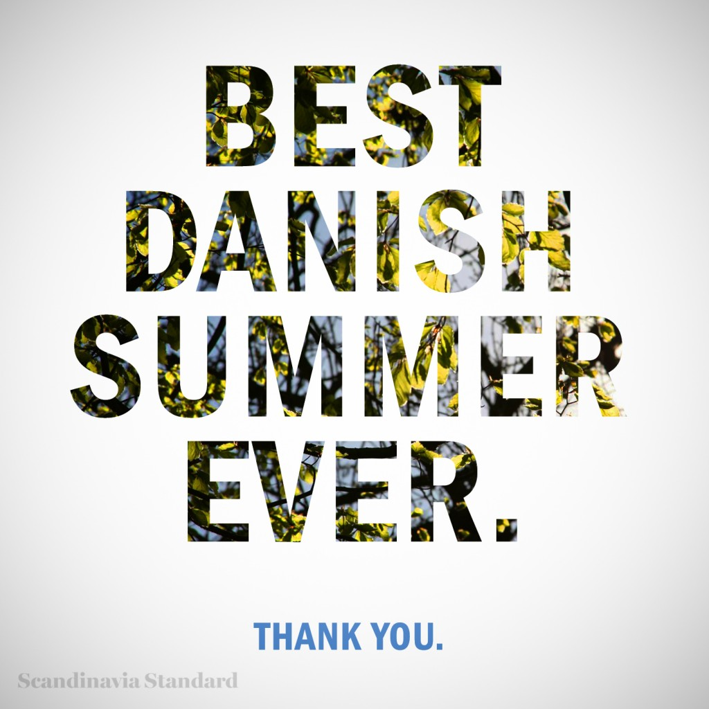 Summer Thanks And Goodbye Until Next Year. At February , 2018. Goodbye  Summer Graphic Scandinavia Standard