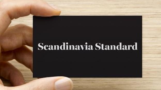 Business Cards Vista Print - Scandinavia Standard