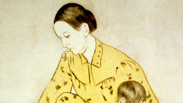 """Mary Cassatt """"The Bath,"""" 1891. Ordrupgaard Denmark - Scandinavia Standard"""