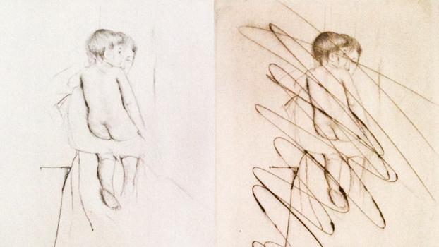 """Mary Cassett """"Baby's Back,"""" 1890 Ordrupgaard Denmark - Scandinavia Standard"""