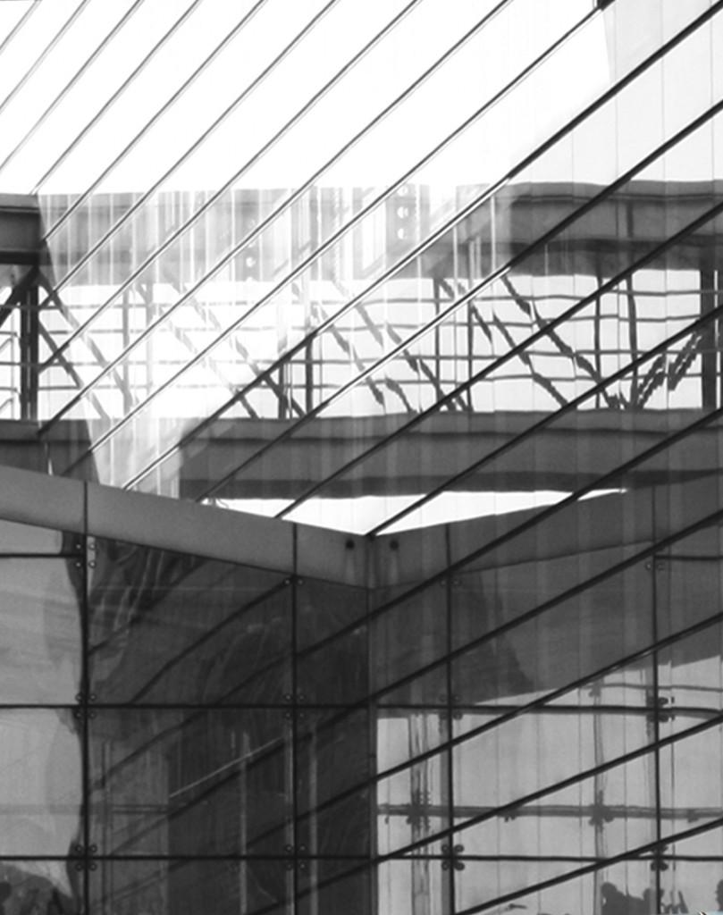 Nykredit Facade: Reflected Facades, Maria Soelvtofte