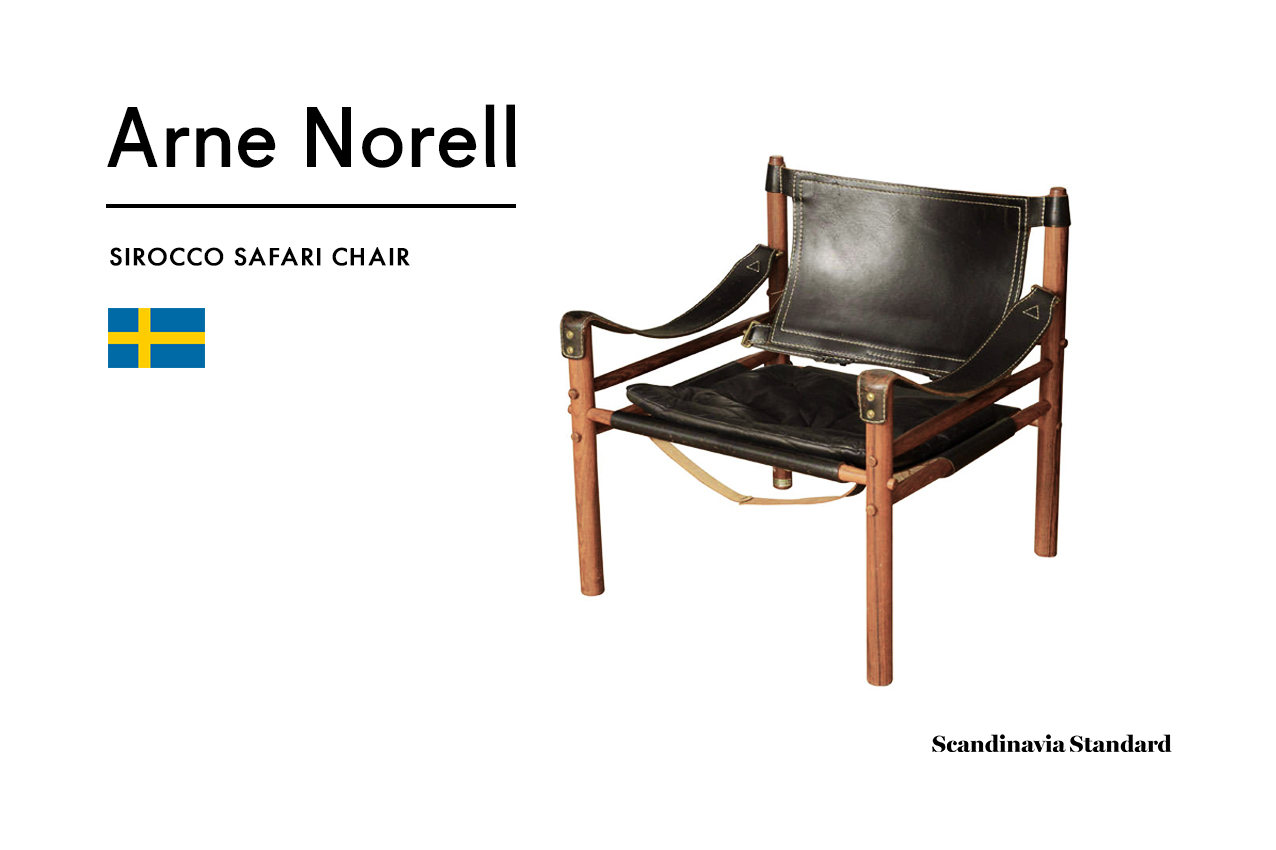Arne Norell   SIROCCO SAFARI CHAIR