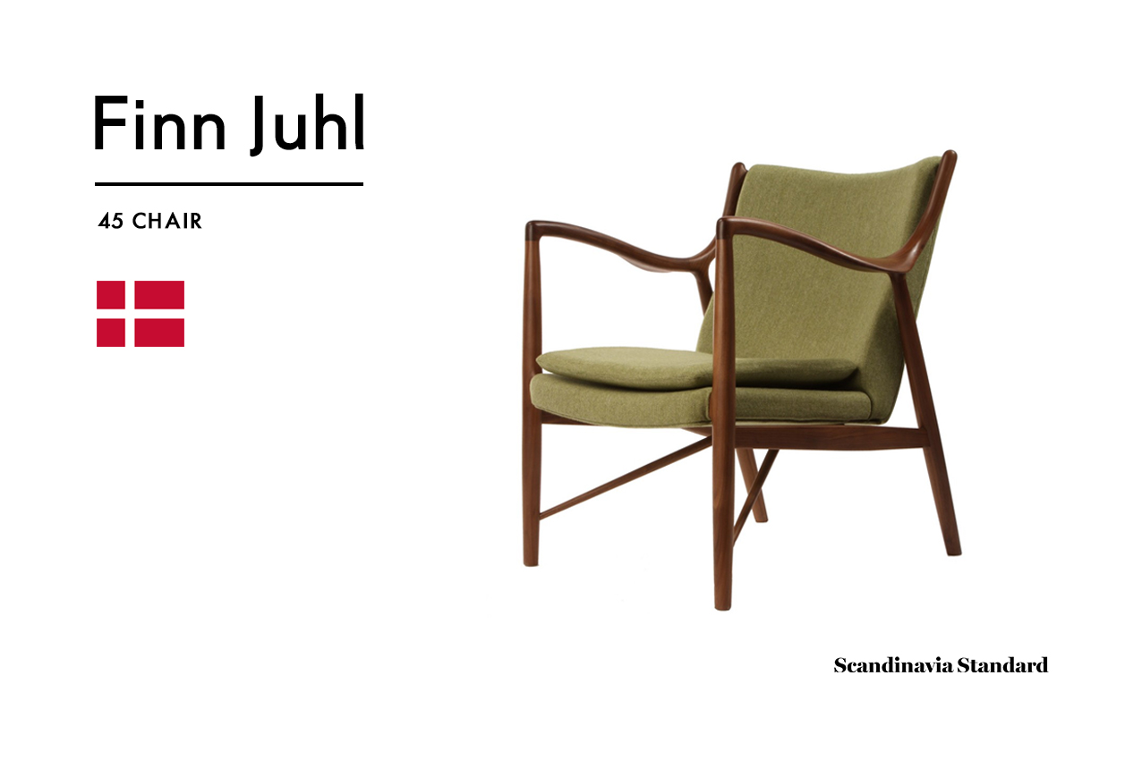 Produced In 1949, The 45 Chair, Among Other Pieces, Helped Introduce Danish  Design To The United States. This Chair Is #1 On My Wish List (for Those Of  You ...