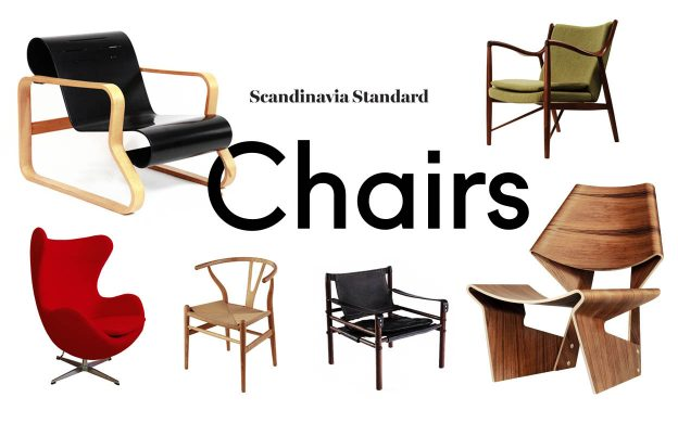 Phenomenal Six Classic Scandinavian Mid Century Modern Chairs Dailytribune Chair Design For Home Dailytribuneorg