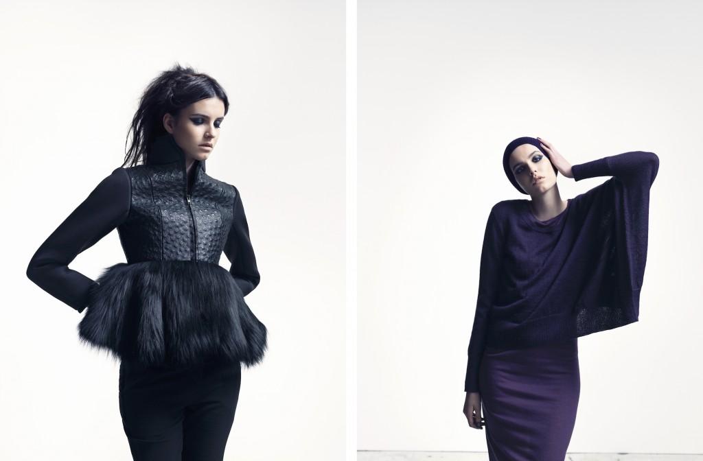 Maikel Tawadros AW14 Copenhagen Fashion Week Scandinavia Standard Danish Fashion Designer Combined