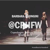 Barbara I Gongini Instagram Video Copenhagen Fashion Week Scandinavia Standard