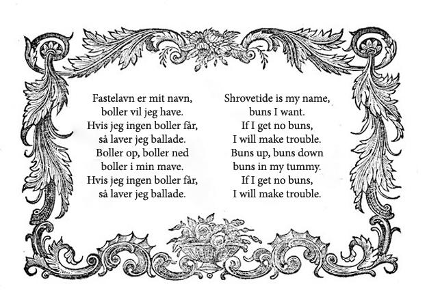 Fastelavn Poem