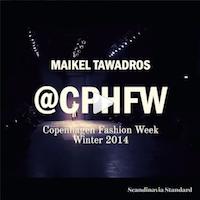 Maikel Tawadros Instagram Video Copenhagen Fashion Week Scandinavia Standard