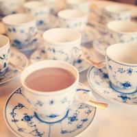 Royal Copenhagen Tea Cups at Radhusplasen Instagram on Scandinavia Standard