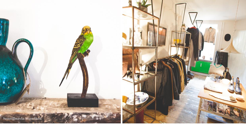 Bau Bau Men's Second Hand in Copenhagen on Scandinavia Standard - Bird Store Front