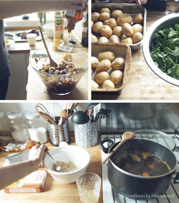 Matzo Balls for Jewish Passover in Copenhagen Denmark on Scandinavia Standard