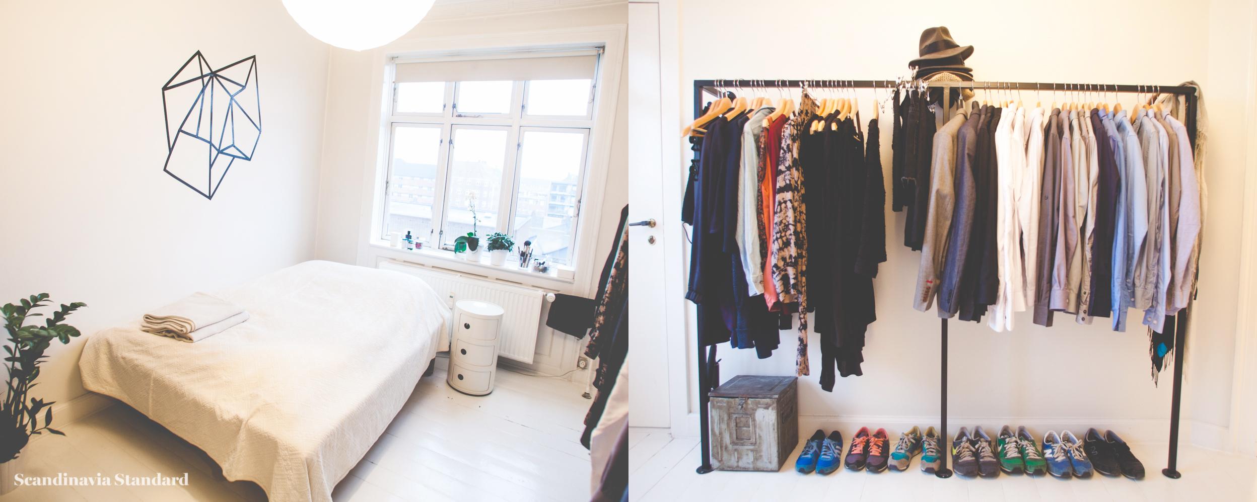 Scandinavia Standard I LOVE MY TYPE Bedroom Bed & Wardrobe