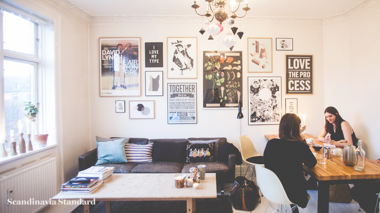 Scandinavia Standard I LOVE MY TYPE Living Room Whole copy