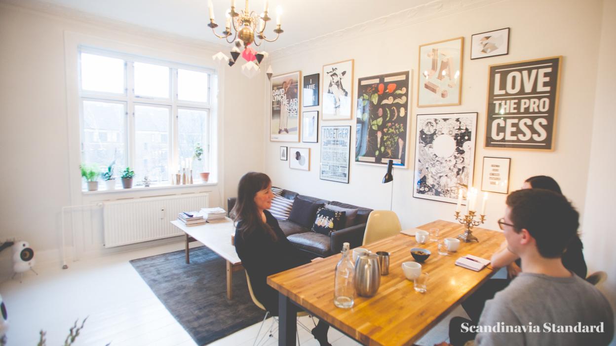 Scandinavia Standard I LOVE MY TYPE Living Room |