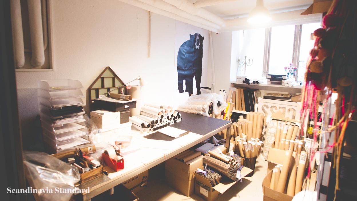 Scandinavia Standard I LOVE MY TYPE Workshop Basement
