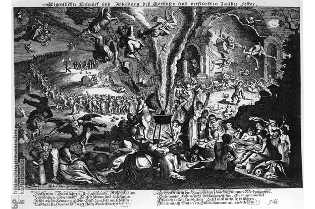 """Walpurgisnacht oder das """"gottlose und verfluchte Zauberfest"""""""