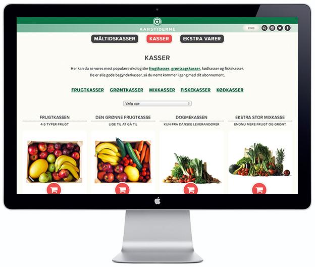 Aarstiderne Organic Produce - Scandinavia Standard