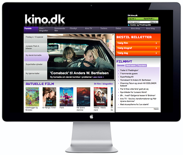 Kino - Movie Times - Scandinavia Standard
