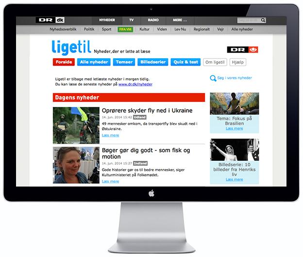 Ligetil Easy News - Scandinavia Standard