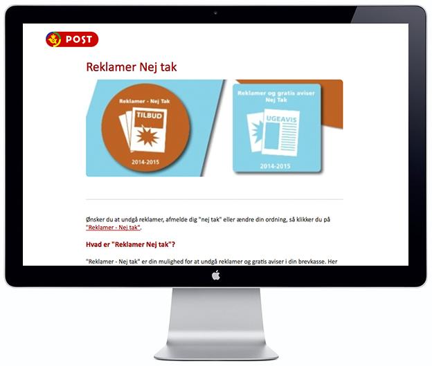No Junk Mail - Scandinavia Standard