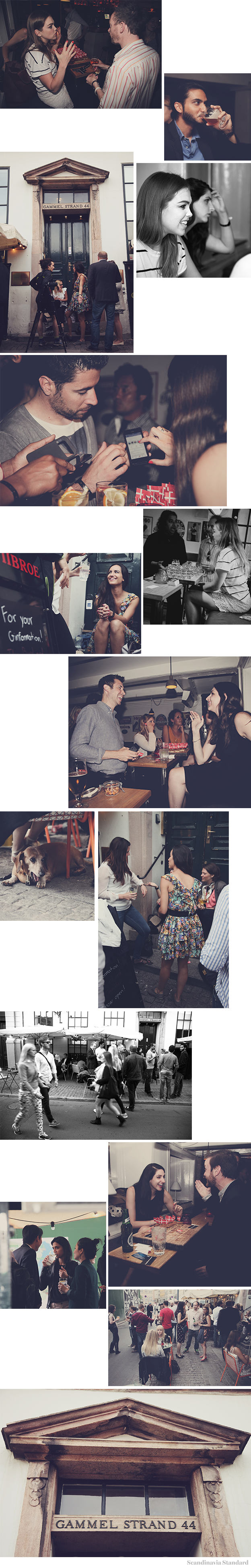 Scandinavia Standard Drinks With Friends of Friends Launch - Collage