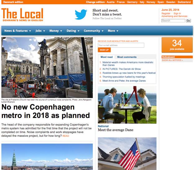 The Local DK Press Release