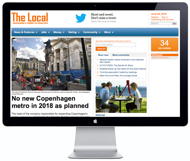 The Local Website - 30 Useful Website Living in Denmark - Scandinavian Standard