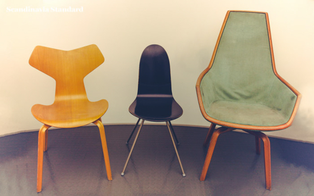 arne jacobsen chairs scandinavia standard