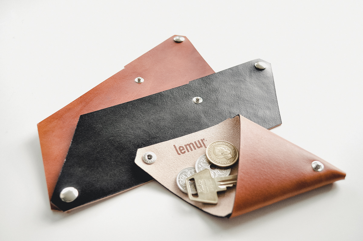 Lemur Leather Accessories Collage | Scandinavia Standard
