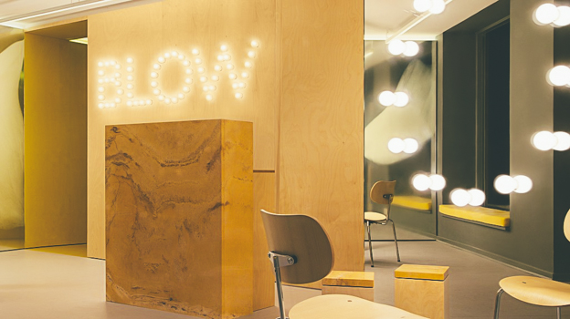 2. BLOW Studio for Shellac Manicure