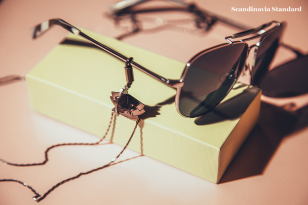 Facon Facon on Warby Parker Into The Gloss Aviator Sunglasses | Scandinavia Standard