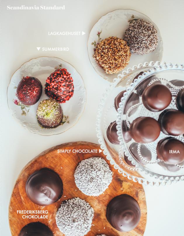 Overview of Flødeboller Brands in the Taste Test | Scandinavia Standard