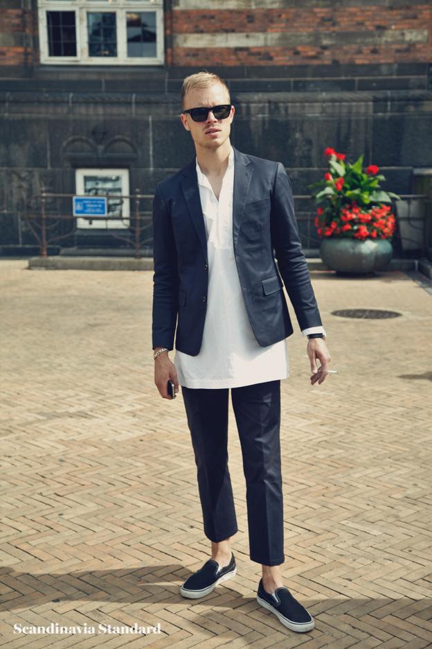 blazer layers - Copenhagen Fashion Week Street Style | Scandinavia Standard