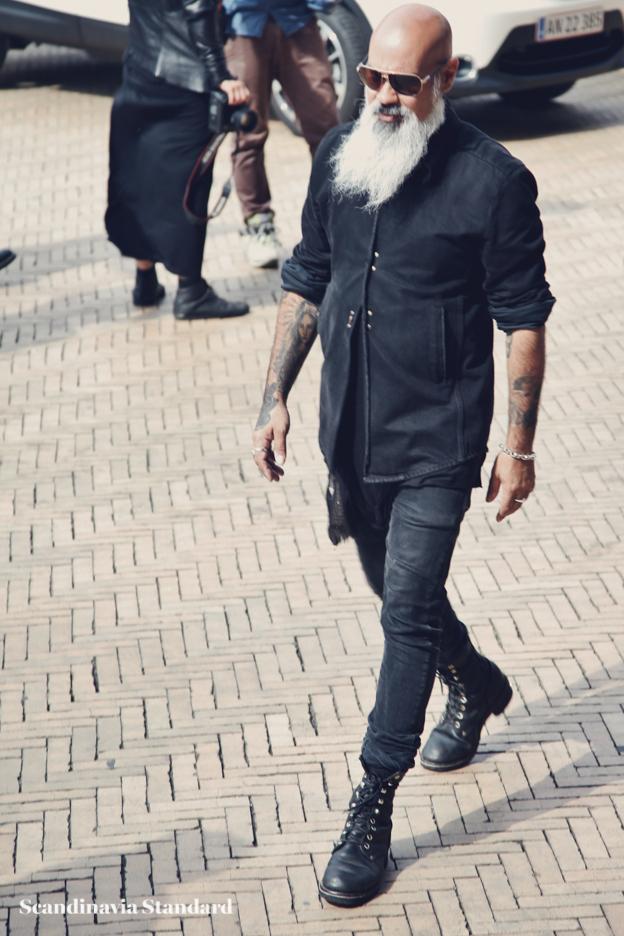long beard and army boots-2 - Copenhagen Fashion Week Street Style | Scandinavia Standard