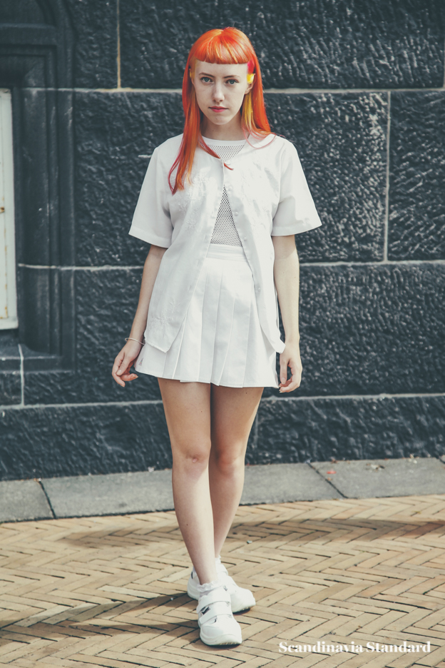 red hair - Copenhagen Fashion Week Street Style | Scandinavia Standard