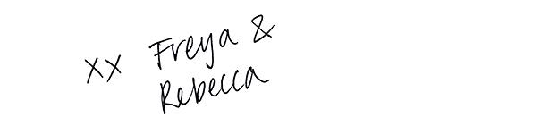 xx Freya & Rebecca