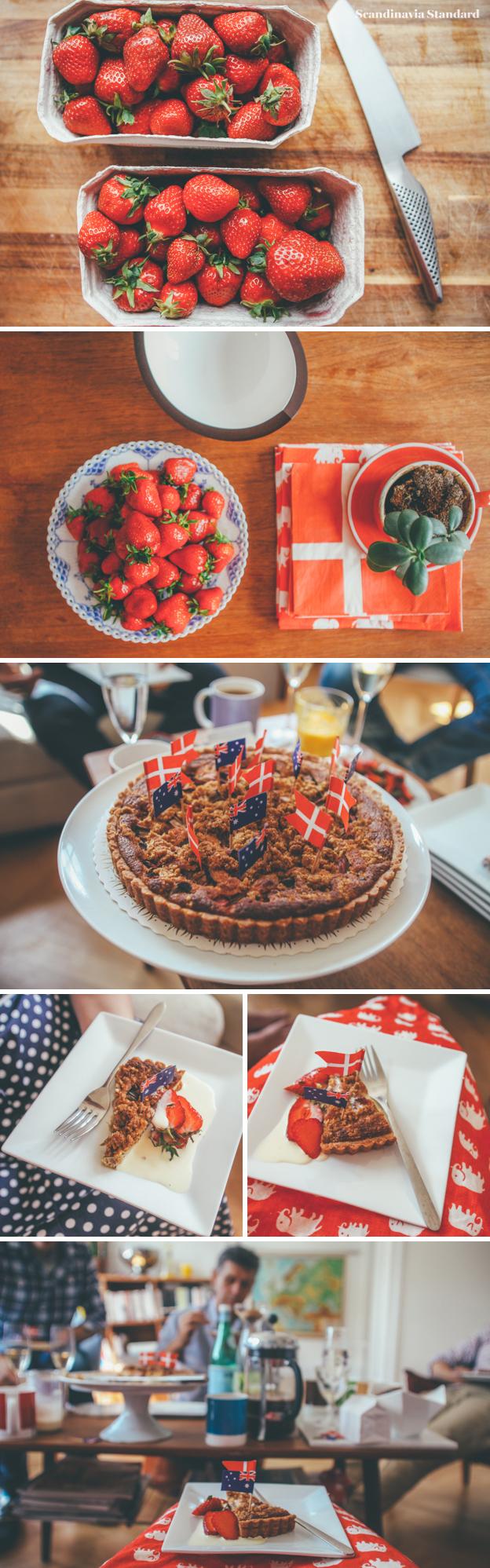 7. Danish Brunch with Rhubarb Pie | Scandinavia Standard