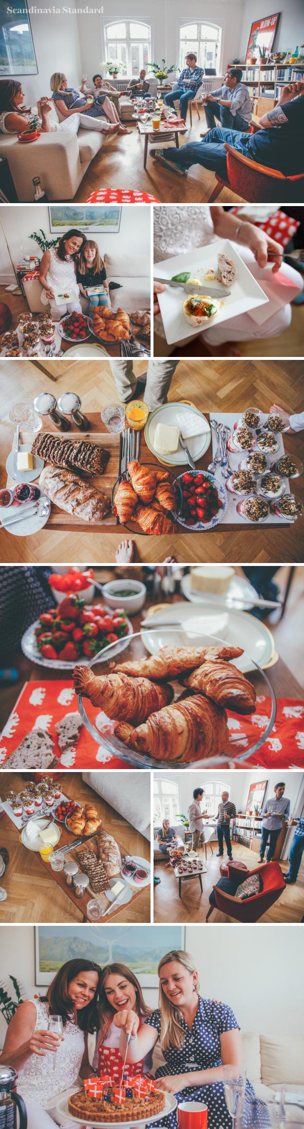 8. Danish Brunch Guests in the Living room | Scandinavia Standard