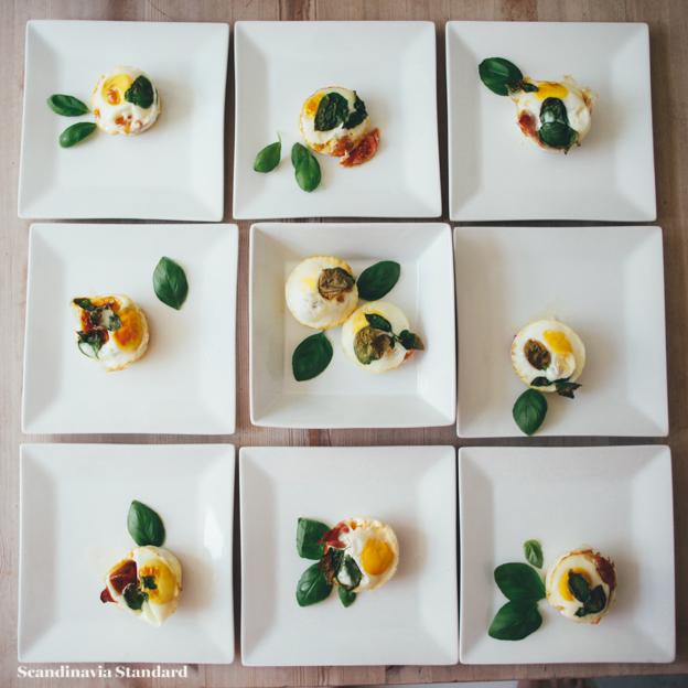 Brunch Eggs on Plates | Scandinavia Standard