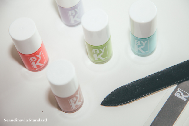 By-K Nailpolish + Files | Scandinavia Standard