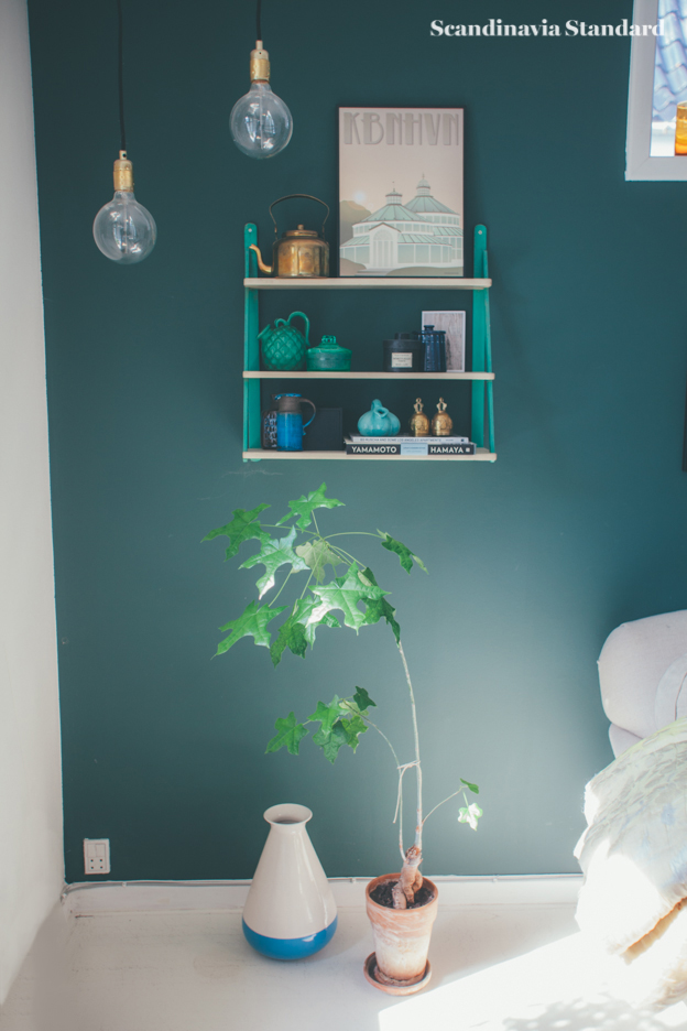 Dark Blue Wall Living Room | Objects & Use | Scandinavia Standard