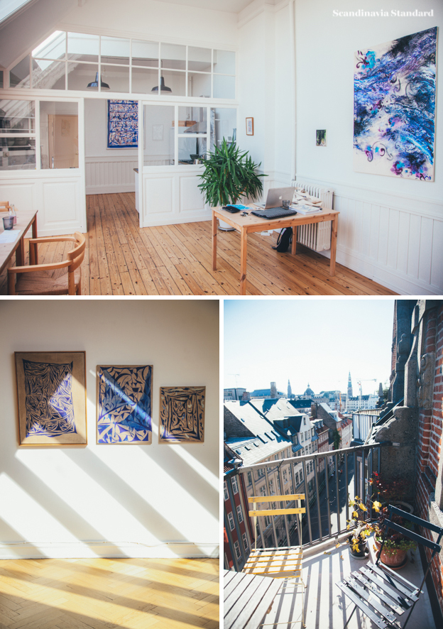 Les Gens Heureux Collage   Scandinavia Standard