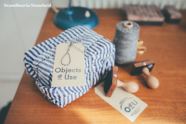 Packaging Blue White Stripe | Objects & Use | Scandinavia Standard