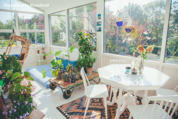 Scandinavian Sun Room with Plants | | Objects & Use | Scandinavia Standard