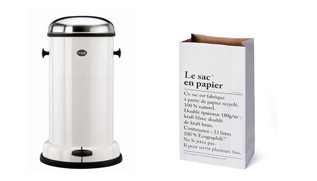 Vipp and Le sac en papier | Scandinavia Standard