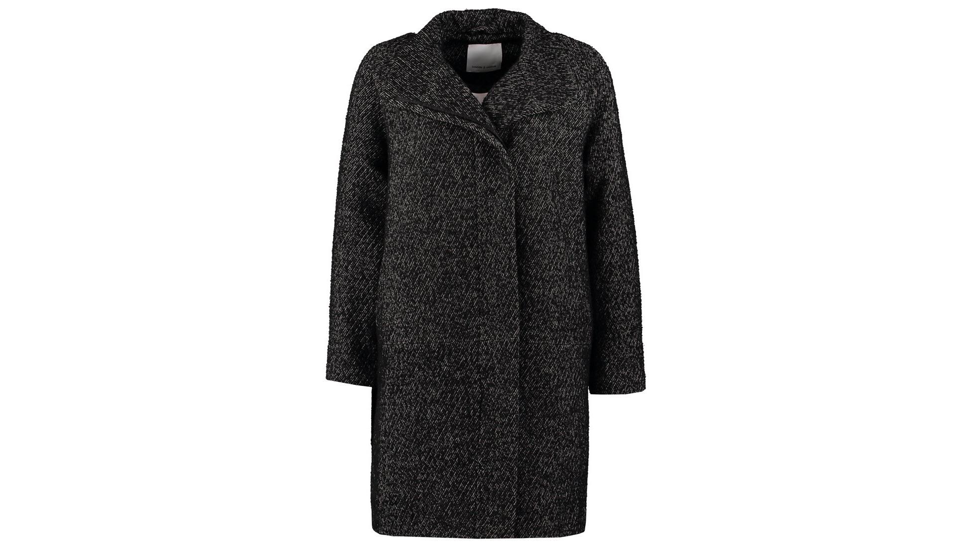 Samsoe & Samesoe Danish Black Coat - Autumn Wardrobe Essentials | Scandinavia Standard