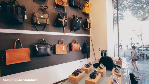 Temporary Showroom Bags | Scandinavia Standard