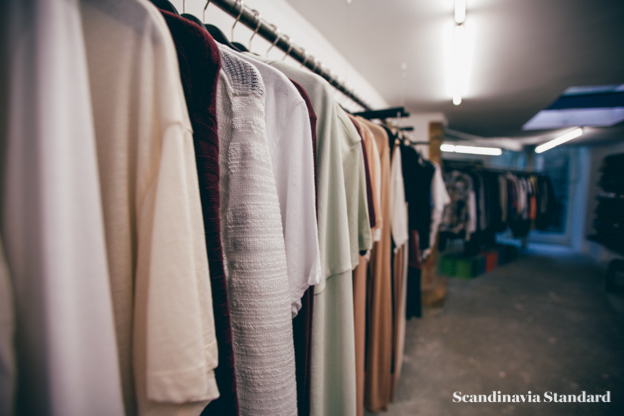 Temporary Showroom Clothes Racks Berlin | Scandinavia Standard