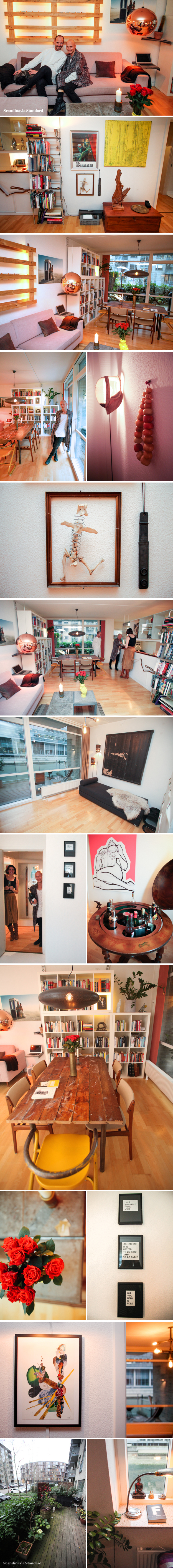 The White Room - Lars & Casper's Amager Apartment Collage