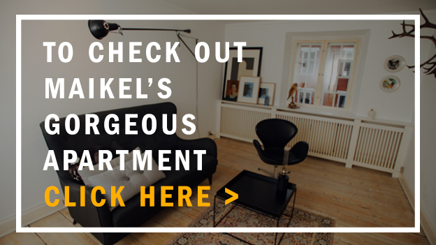 Check Out Maikel Tawadros's Apartment   Scandinavia Standard